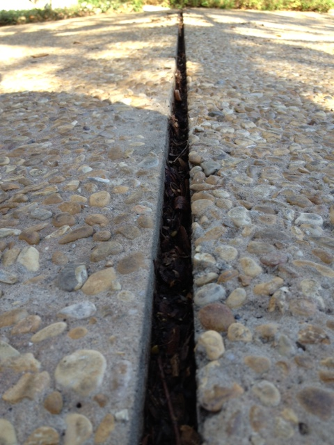 Expansion Joint For Concrete : Expansion joint cleaned out mvl concretes