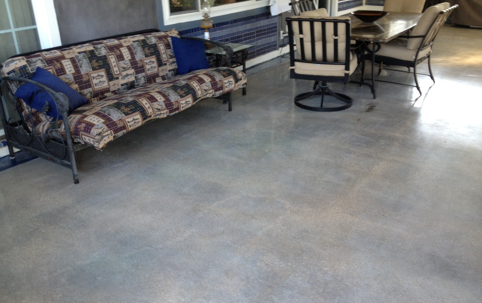 ... Stained Concrete Patio Colors