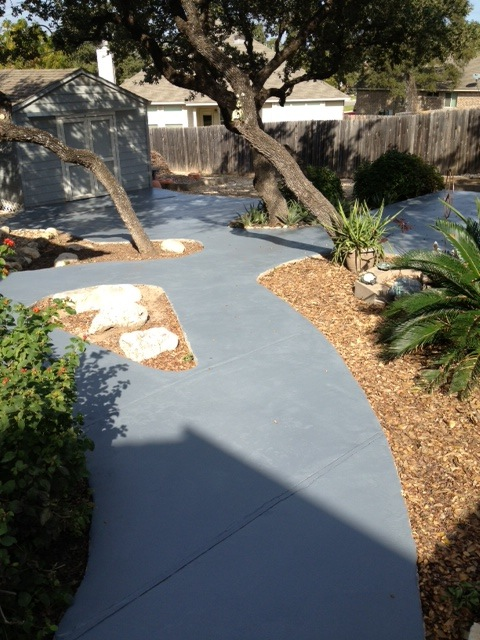 Concrete Patio Sealed