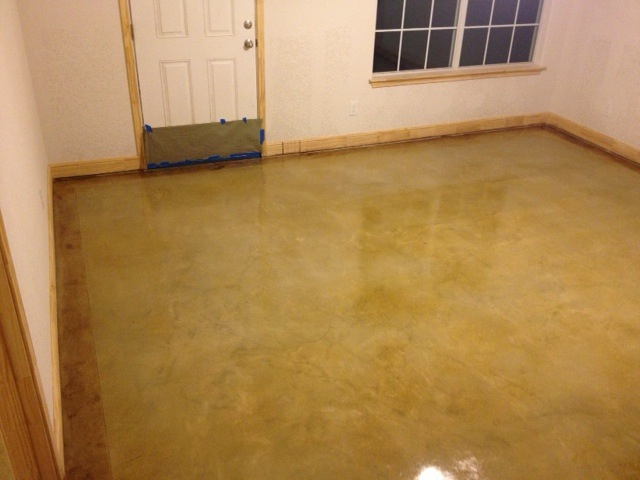 Sealed Concrete Flooring : Stained concrete floor mvl concretes