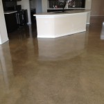 Concrete Floor Ground & Sealed