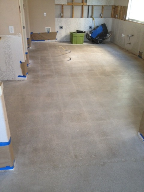 Removing Tile From Concrete Floor Mvl Concretes Blog