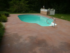 Concrete Staining Glens Falls, New York
