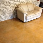 Concrete Staining with Water Based Stain