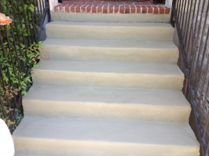 After Concrete Stairs Repaired