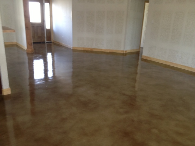 Stained concrete mvl concretes 39 blog for Best way to clean painted concrete floors