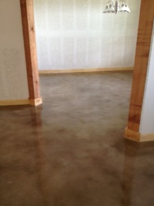 Interior Stained Concrete