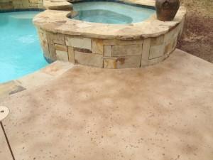 Staining Concrete Around Pool Deck Mvl Concretes Blog