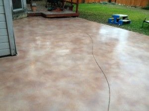 After Resurfacing & Staining