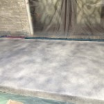 Concrete Resurfaced & Stained