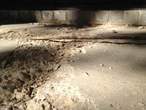 Spalling Concrete Cause By Corroding Rebar