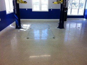 Polished Concrete 800 Grit