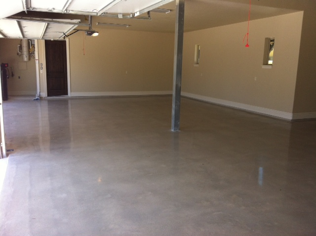 Concrete Polishing In Garage