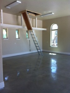 Polished Concrete in Boerne 800 Grit
