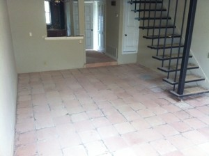 Saltillo Tile Ground Down