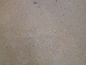 Exposed Aggregate Honed Concrete