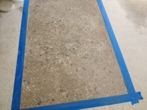 Applying Aqua Blocks On Ground Concrete