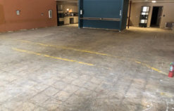 Before Grinding & Polishing Concrete Floor